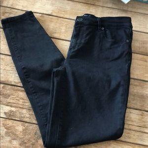 Loft size 6 black jean leggings